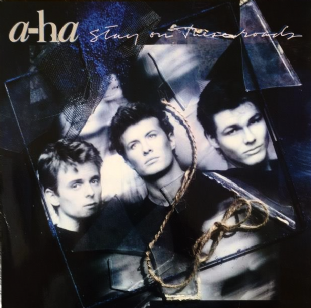 A-Ha - Stay On These Roads (LP) (VG/VG-)
